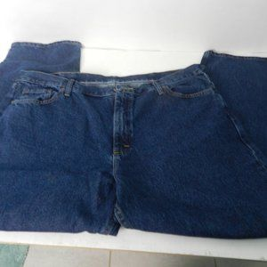 Wrangler Mens Relaxed Fit Blue Jeans  42/29 NWT o